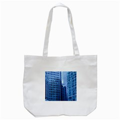 City Blue Building Construction Tote Bag (white)