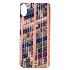 Low Angle Photography Of Beige And Blue Building Iphone X/xs Soft Bumper Uv Case by Pakrebo
