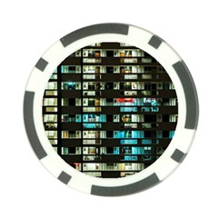 Architectural Design Architecture Building Cityscape Poker Chip Card Guard