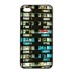 Architectural Design Architecture Building Cityscape Iphone 4/4s Seamless Case (black)