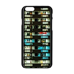 Architectural Design Architecture Building Cityscape Iphone 6/6s Black Enamel Case