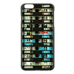 Architectural Design Architecture Building Cityscape Iphone 6 Plus/6s Plus Black Enamel Case