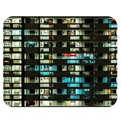 Architectural Design Architecture Building Cityscape Double Sided Flano Blanket (medium)