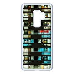 Architectural Design Architecture Building Cityscape Samsung Galaxy S9 Plus Seamless Case(white)