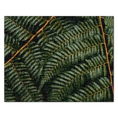 Green Leaves Photo Rectangular Jigsaw Puzzl