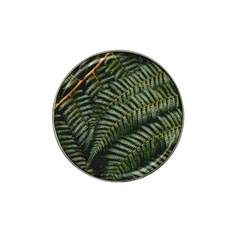 Green Leaves Photo Hat Clip Ball Marker (10 Pack)