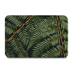 Green Leaves Photo Plate Mats