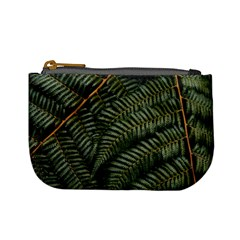 Green Leaves Photo Mini Coin Purse