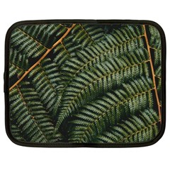 Green Leaves Photo Netbook Case (xl)