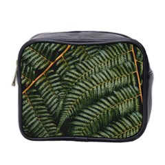 Green Leaves Photo Mini Toiletries Bag (two Sides)