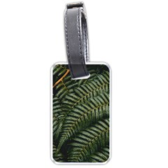Green Leaves Photo Luggage Tag (one Side)