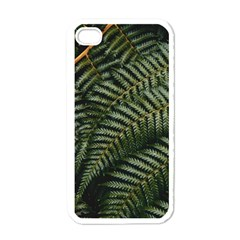 Green Leaves Photo Iphone 4 Case (white)