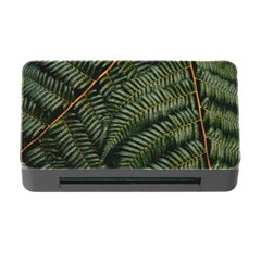 Green Leaves Photo Memory Card Reader With Cf