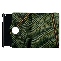 Green Leaves Photo Apple Ipad 2 Flip 360 Case
