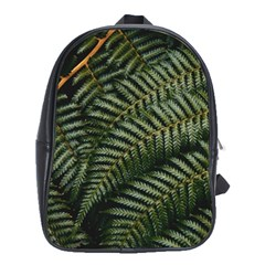Green Leaves Photo School Bag (xl)