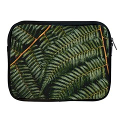 Green Leaves Photo Apple Ipad 2/3/4 Zipper Cases
