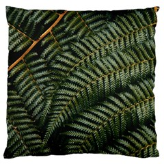 Green Leaves Photo Standard Flano Cushion Case (two Sides)