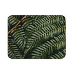 Green Leaves Photo Double Sided Flano Blanket (mini)