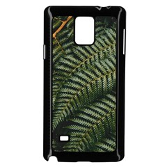 Green Leaves Photo Samsung Galaxy Note 4 Case (black)