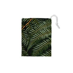 Green Leaves Photo Drawstring Pouch (xs)