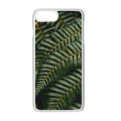 Green Leaves Photo Iphone 7 Plus Seamless Case (white)