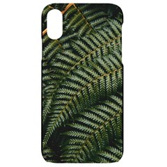 Green Leaves Photo Iphone Xr Black Uv Print Case