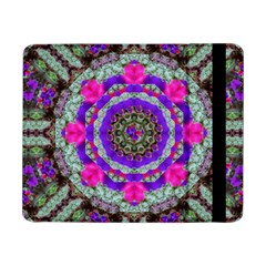 Floral To Be Happy Of In Soul Samsung Galaxy Tab Pro 8 4  Flip Case by pepitasart