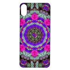 Floral To Be Happy Of In Soul Iphone X/xs Soft Bumper Uv Case by pepitasart