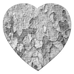 Nature Texture Print Jigsaw Puzzle (heart) by dflcprintsclothing
