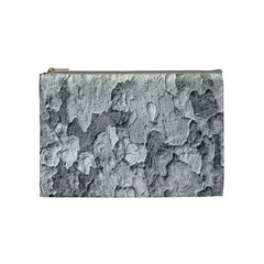 Nature Texture Print Cosmetic Bag (medium)