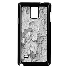 Nature Texture Print Samsung Galaxy Note 4 Case (black)