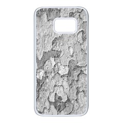 Nature Texture Print Samsung Galaxy S7 White Seamless Case