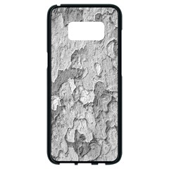 Nature Texture Print Samsung Galaxy S8 Black Seamless Case