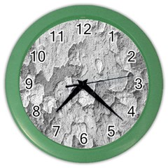 Nature Texture Print Color Wall Clock