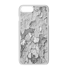 Nature Texture Print Iphone 8 Plus Seamless Case (white)