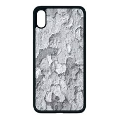 Nature Texture Print Iphone Xs Max Seamless Case (black)