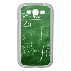 Mathematics Green Samsung Galaxy Grand Duos I9082 Case (white)