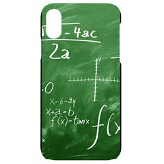 Mathematics Green Iphone Xr Black Uv Print Case