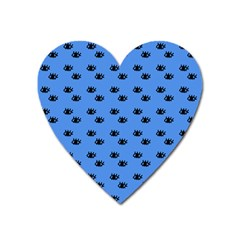 Blue Eyes Heart Magnet by snowwhitegirl