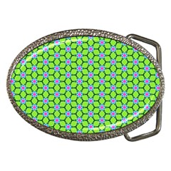 Pattern Green Belt Buckles by Mariart