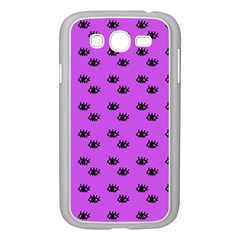 Purple Eyes Samsung Galaxy Grand Duos I9082 Case (white)