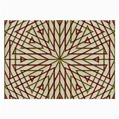 Kaleidoscope Triangle Large Glasses Cloth by AnjaniArt
