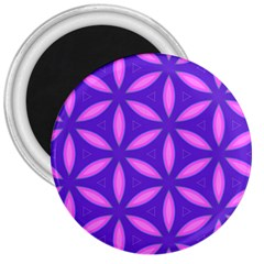 Purple 3  Magnets