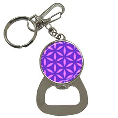 Purple Bottle Opener Key Chain