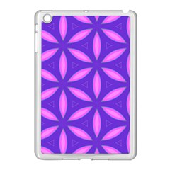 Purple Apple Ipad Mini Case (white)