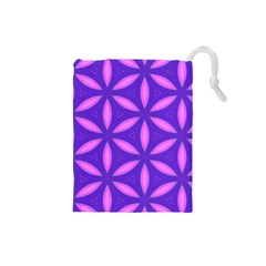 Purple Drawstring Pouch (small)