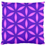 Purple Standard Flano Cushion Case (Two Sides) Back