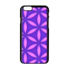 Purple Iphone 6/6s Black Enamel Case