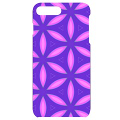 Purple Iphone 7/8 Plus Black Uv Print Case
