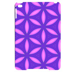 Purple Apple Ipad Mini 4 Black Uv Print Case